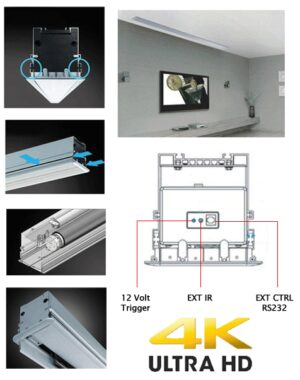 Grandview 16:9 Inceiling Electric Projector Screen