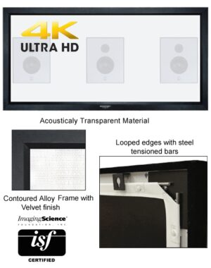 Grandview 2.35:1 Fixed Frame Screen Acoustic