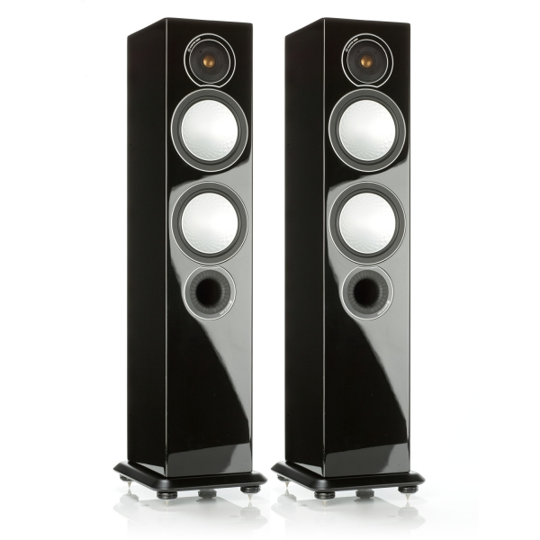 Monitor Audio Silver 6 Speakers – High Gloss Black