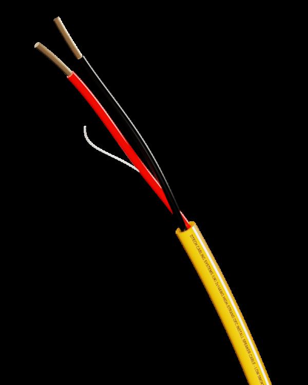 DTECH 14/2 AWG SPEAKER CABLE – 100M REEL (Orange)