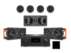 Entry Level Cinema Speaker & T758V3i AVR Package