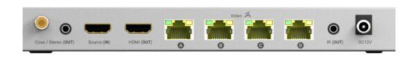 HDANYWHERE – XTND 4K (40) TPC Splitter (1×4+1)